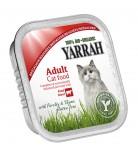 Yarrah Cat Bröckchen Rind & Petersilie 100g