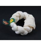Bravo Rawhide Donut geflochten Natur 12,5-15 cm