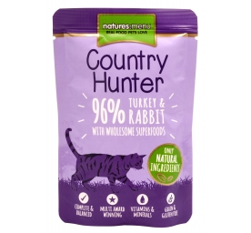 Natures Menu Cat Country Pute & Kaninchen 85 g