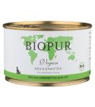 Biopur Dog Vegan Reis & Karotten 400g