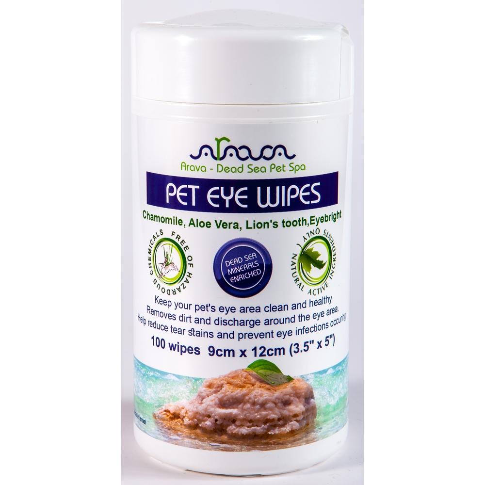 Arava Cat & Dog Augenpflegetücher 100Stück