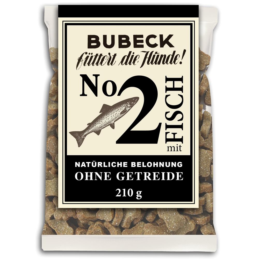 Bubeck Hundekekse N°2 mit Fisch 210g