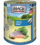 Mac's Dog Lachs, Pasta & Spinat