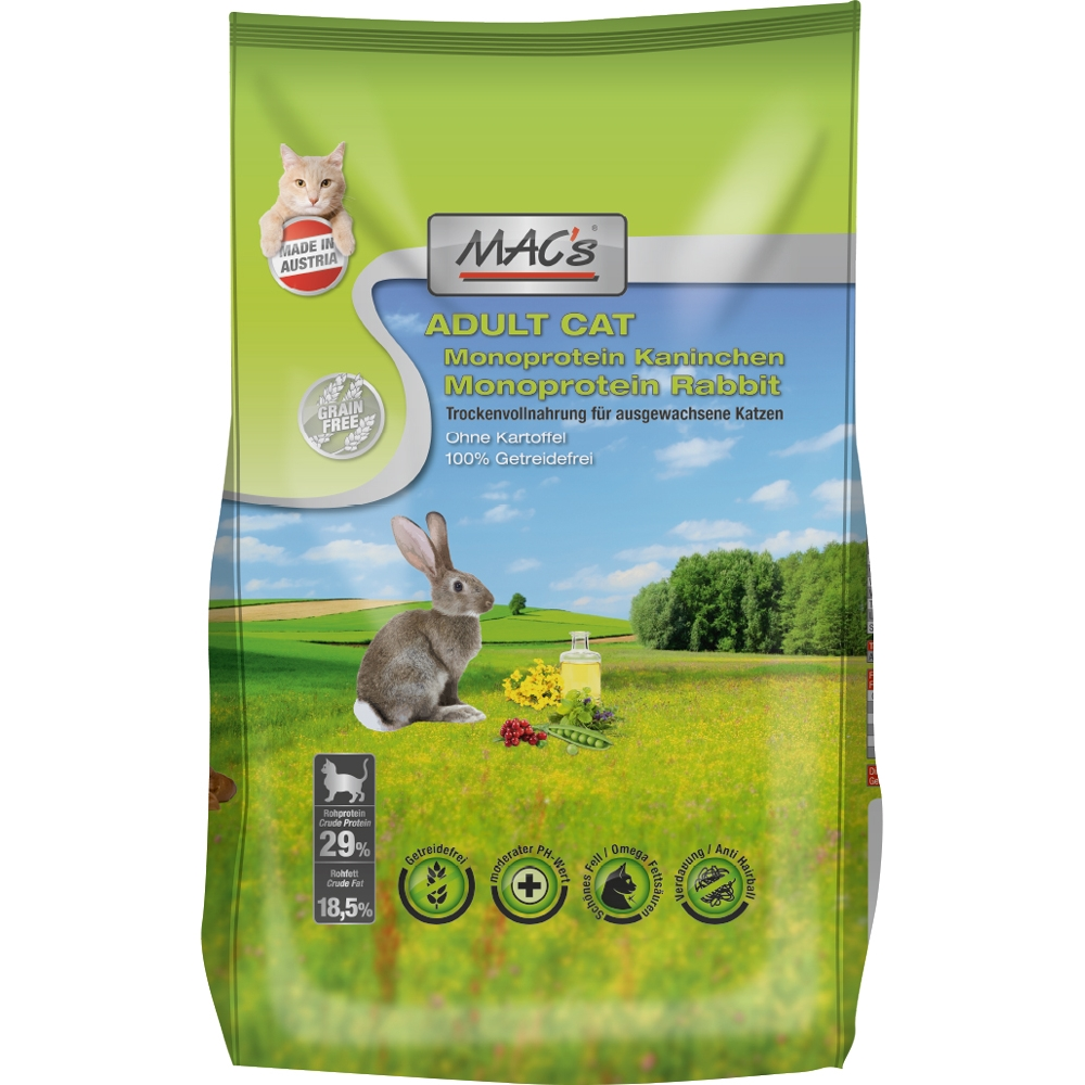 Mac's Cat Monoprotein Kaninchen