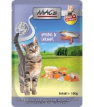 Mac's Cat Pouchpack Hering & Shrimps 100g