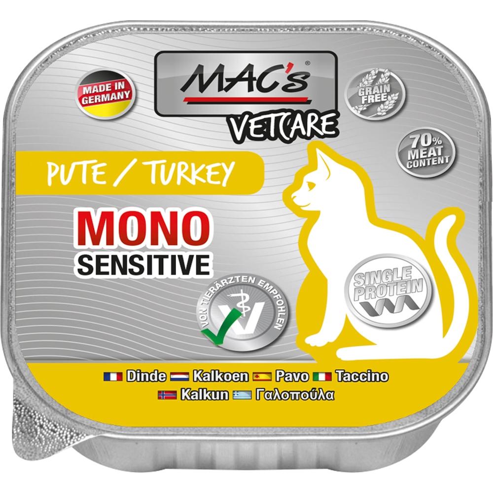 Mac's Cat Vetcare Mono Pute 100g