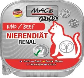 Mac's Cat Vetcare Nierendiät Rind 100g