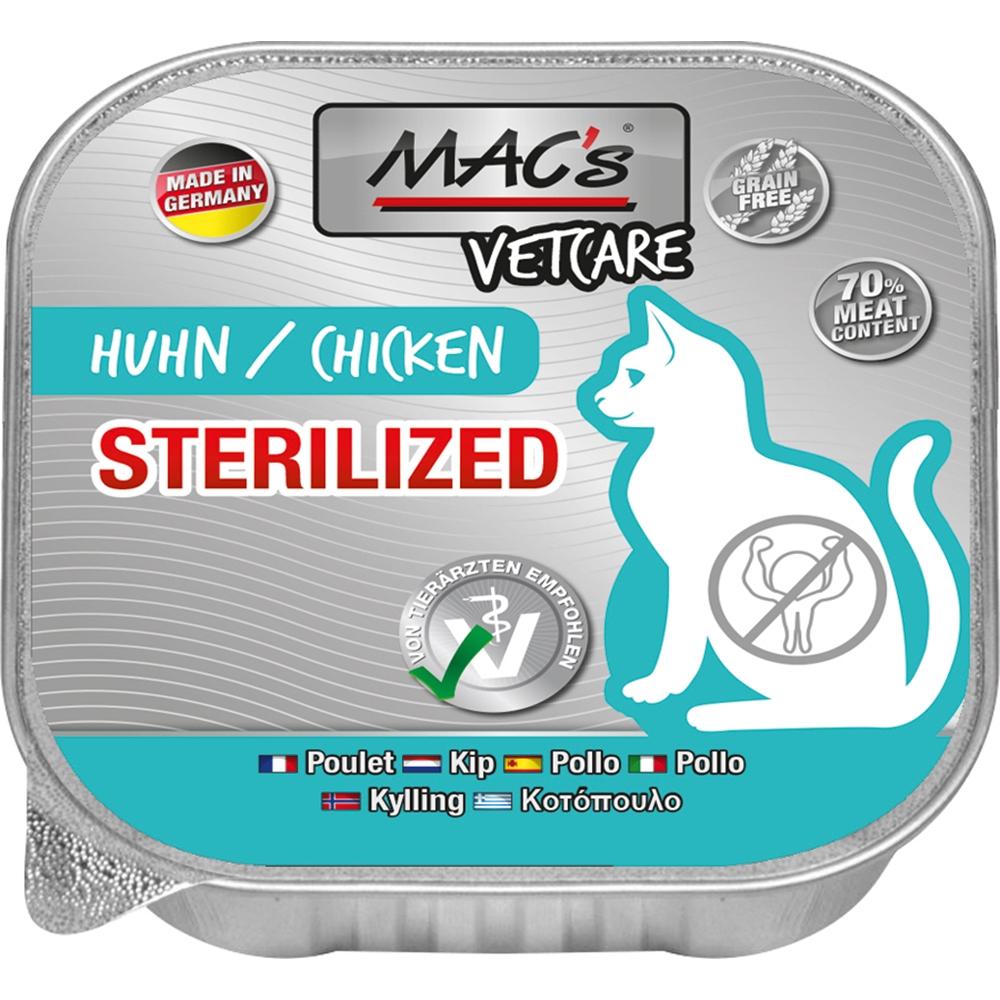 Mac's Cat Vetcare Sterilized Huhn 100g