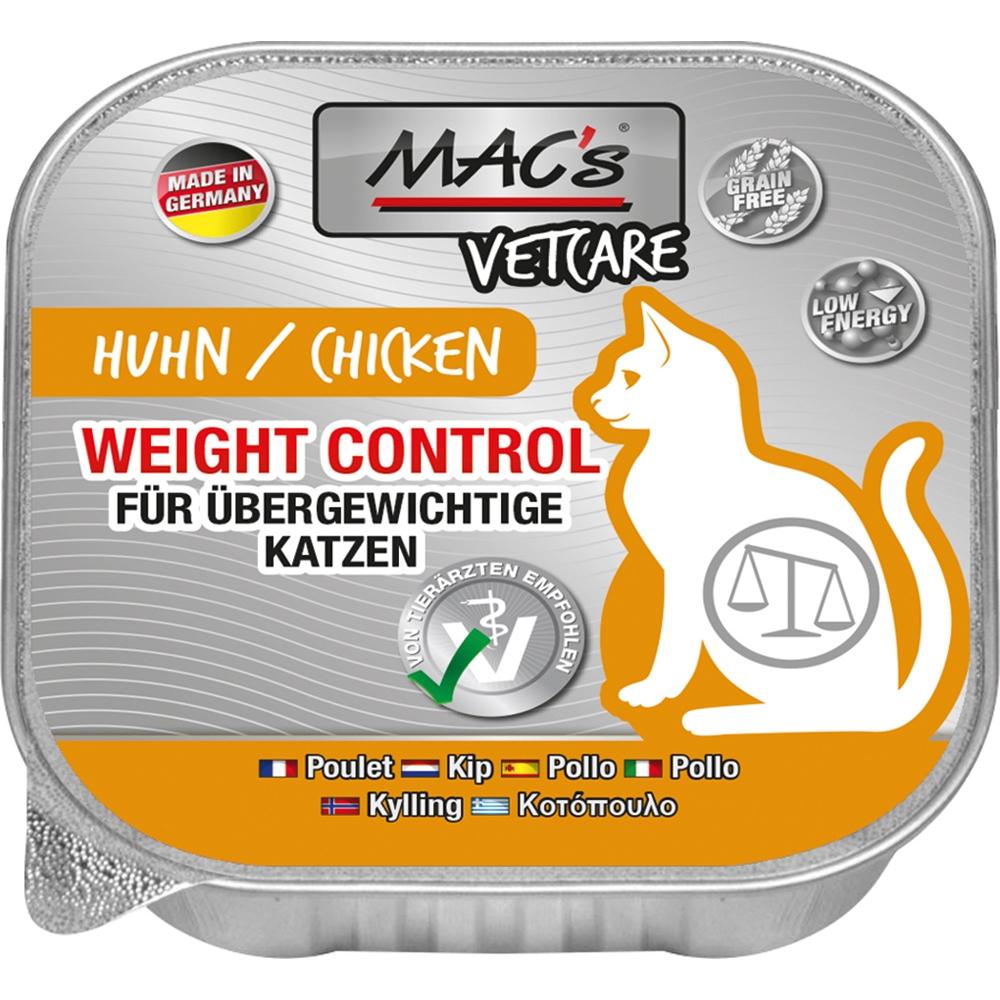 Mac's Cat Vetcare Weight Control Huhn 100g