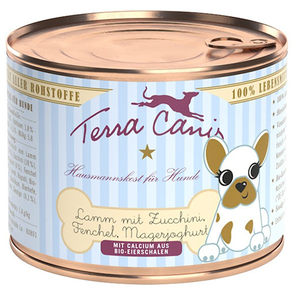 Terra Canis Welpen Lamm, Zucchini, Fenchel & Magerjoghurt
