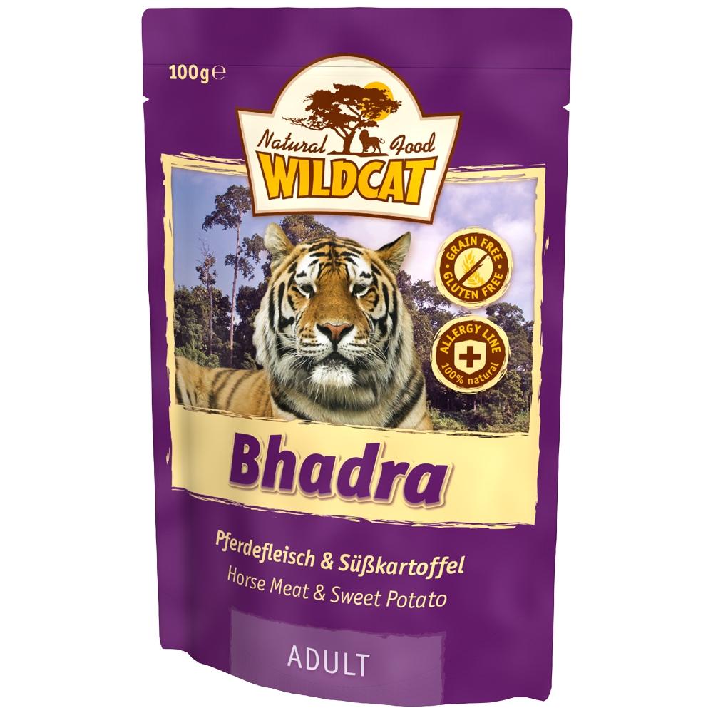 Wildcat Bhadra Pferdefleisch & Süßkartoffel 100g
