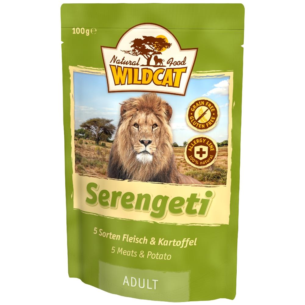 Wildcat Serengeti 5 Sorten Fleisch & Kartoffel 100g