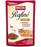 Animonda Rafiné Soupé Adult Sauce Geflügel, Kaninchen & Schinken 100g