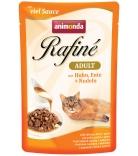 Animonda Rafiné Soupé Adult Sauce Huhn, Ente & Nudeln 100g