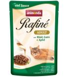 Animonda Rafiné Soupé Adult Sauce Rind, Gans & Apfel 100g