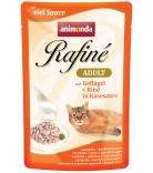 Animonda Rafiné Soupé Adult Sauce Geflügel & Rind in Käsesauce 100g