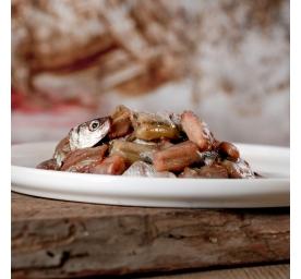 Barfgold Fisch Sprotten gewürfelt 500g