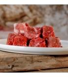 Barfgold Muskelfleisch Hirschfleisch gewürfelt 500g