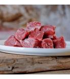 Barfgold Muskelfleisch Lammfleisch durchwachsen gewürfelt 1kg