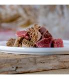 Barfgold Fleischmenüs Schlemmer-Menü vom Rind gewürfelt