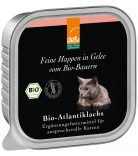 Defu Cat Feine Happen in Gelee Bio-Atlantiklachs 100g