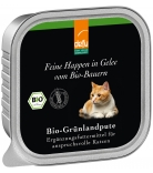 Defu Cat Feine Happen in Gelee Bio-Grünlandpute 100g