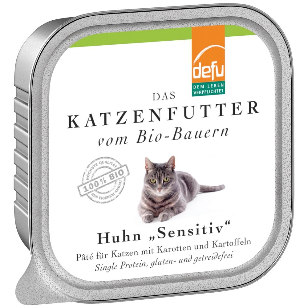 Defu Cat Sensitiv Huhn 100g