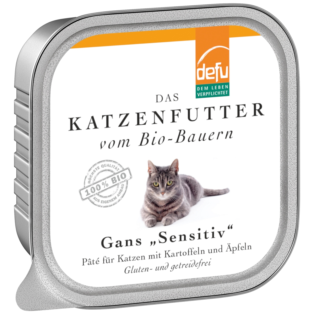 Defu Cat Sensitiv Gans 100g