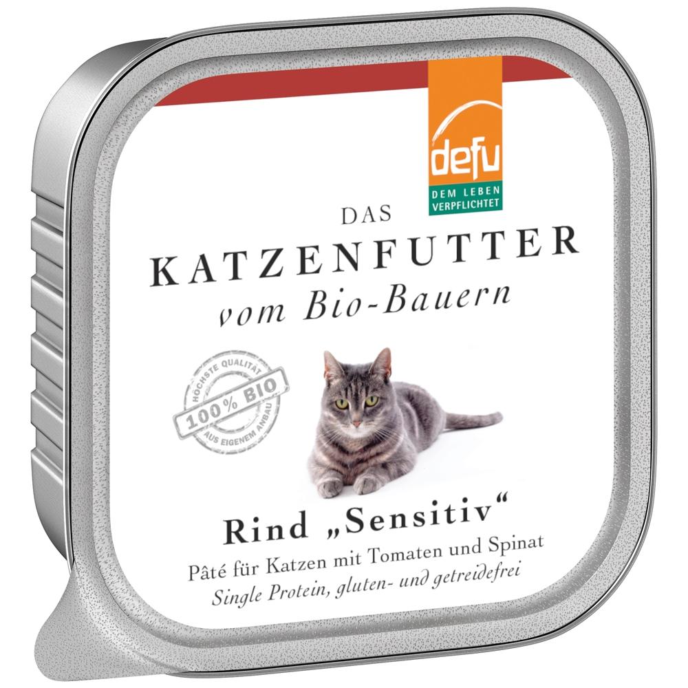Defu Cat Sensitiv Rind 100g