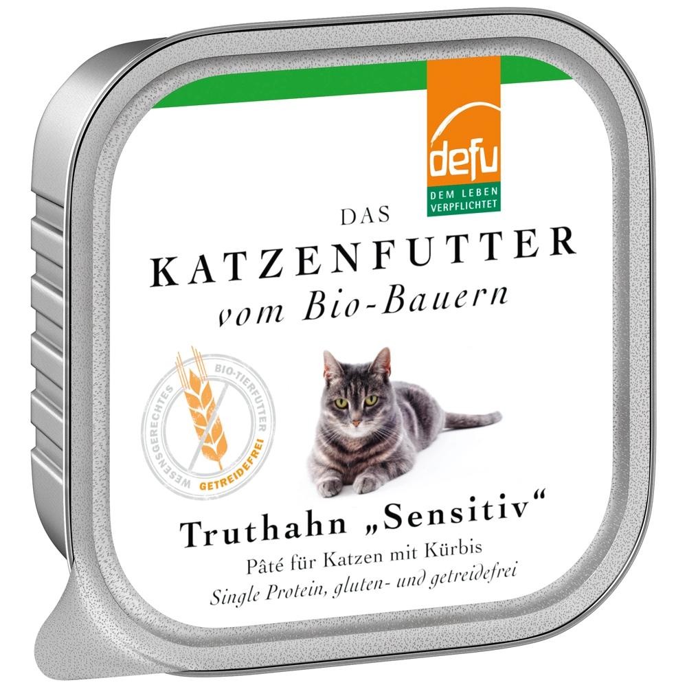 Defu Cat Sensitiv Truthahn 100g