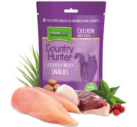 Natures Menu Cat Country Hunter Snacks Huhn & Ente 40g