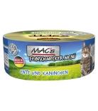 Mac's Cat Feinschmecker Menü Ente & Kaninchen 100g