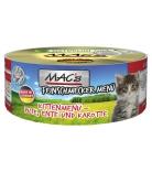 Mac's Cat Feinschmecker Menü Kitten Pute, Ente & Karotte 100g