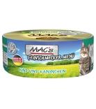 Mac's Cat Feinschmecker Menü Rind & Kaninchen 100g