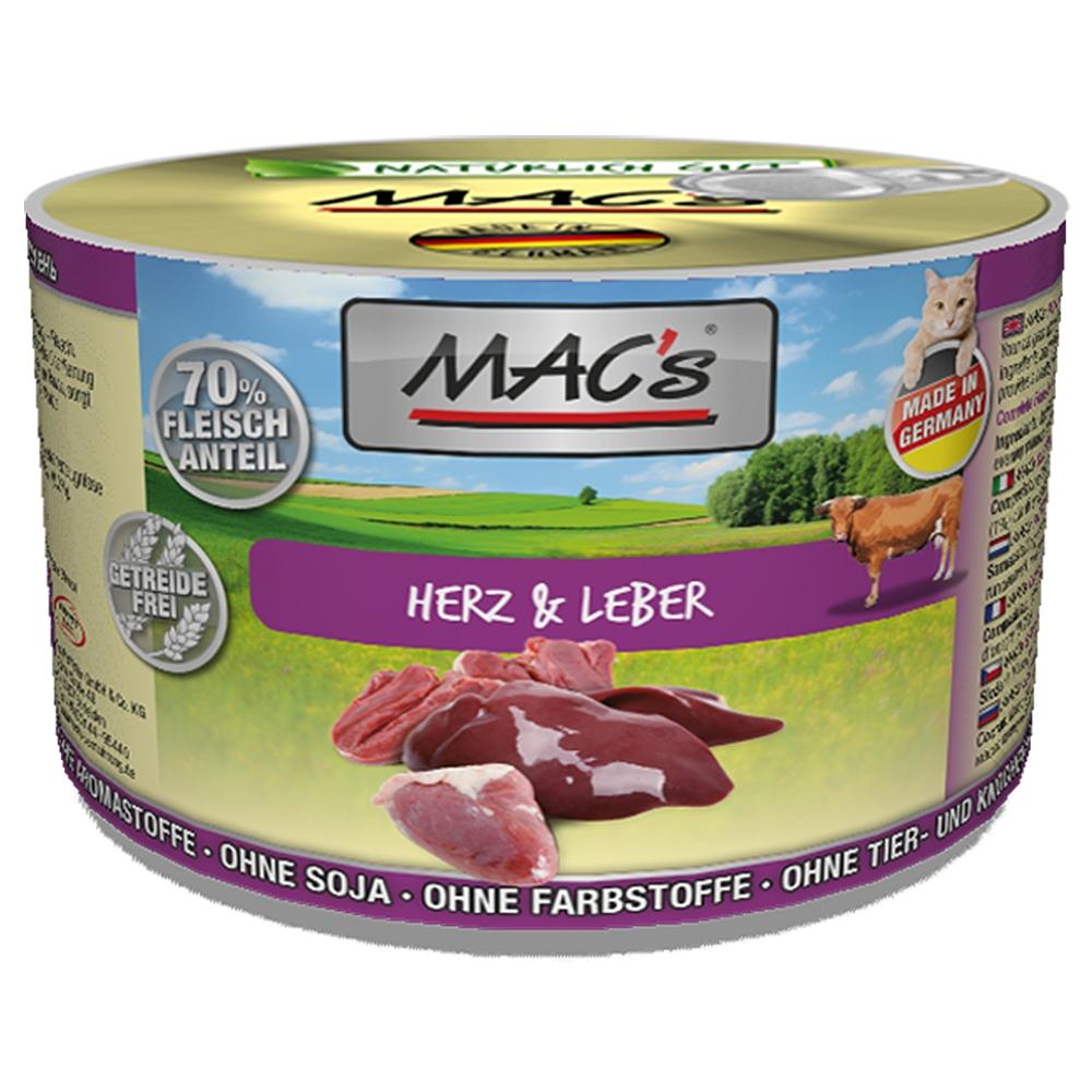 Mac's Cat Herz & Leber
