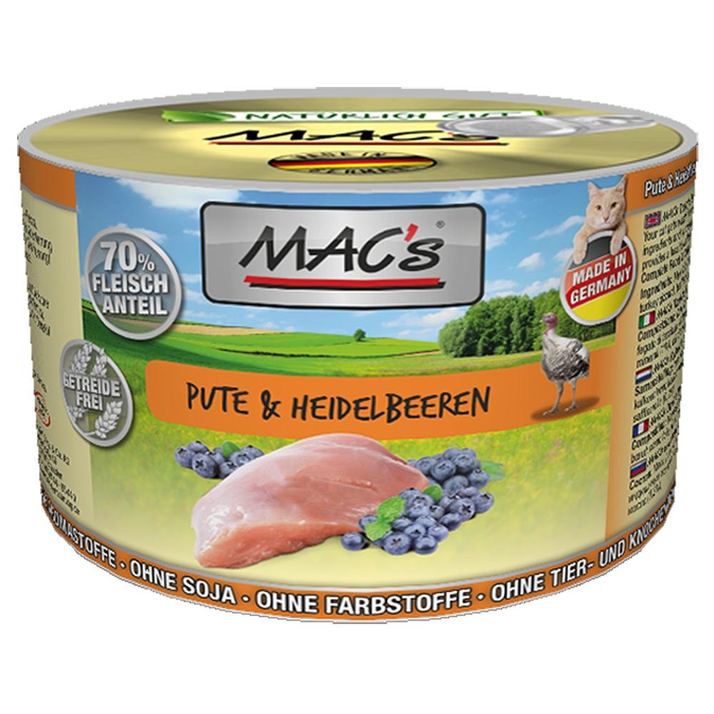 Mac's Cat Pute & Heidelbeeren