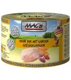 Mac's Cat Huhn pur mit ganzen Geflügelherzen