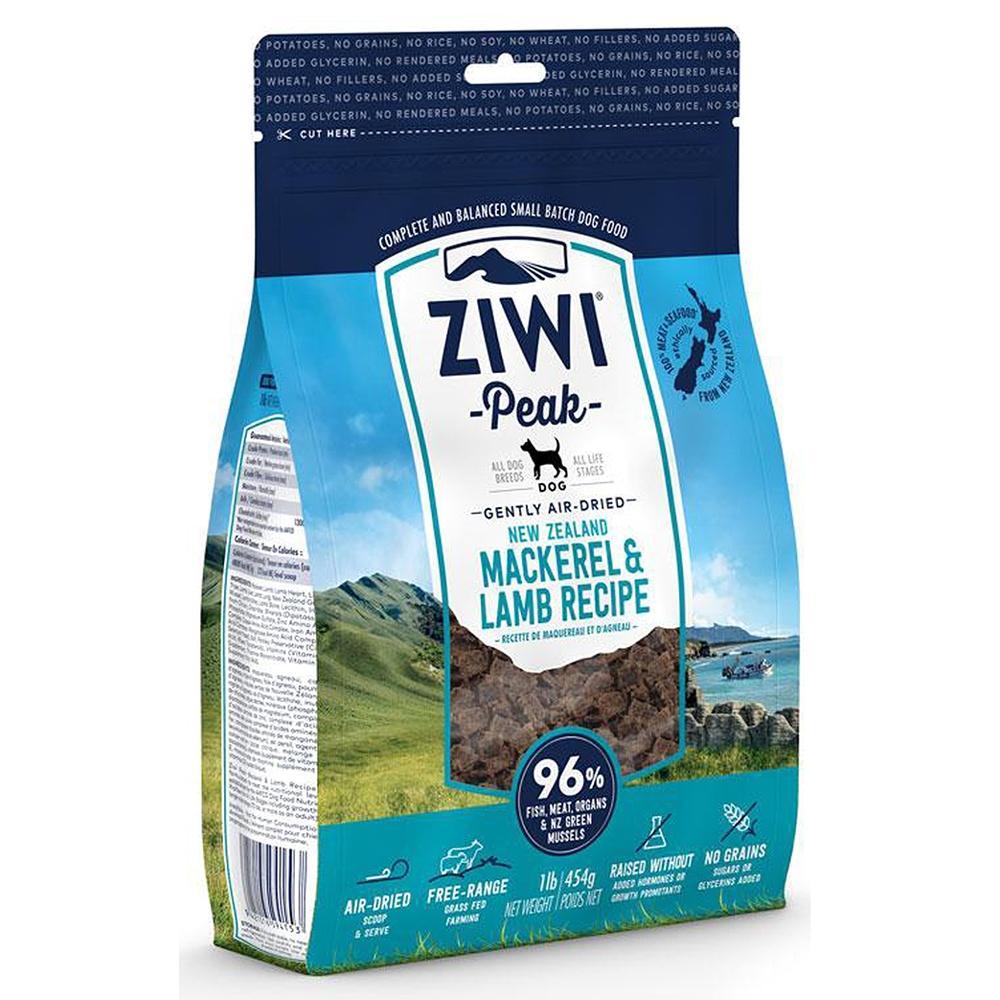 Ziwi Peak Dog Air-Dried Makrele & Lamm