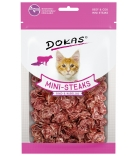 Dokas Cat Mini-Steaks mit Rind & Kabeljau 40g