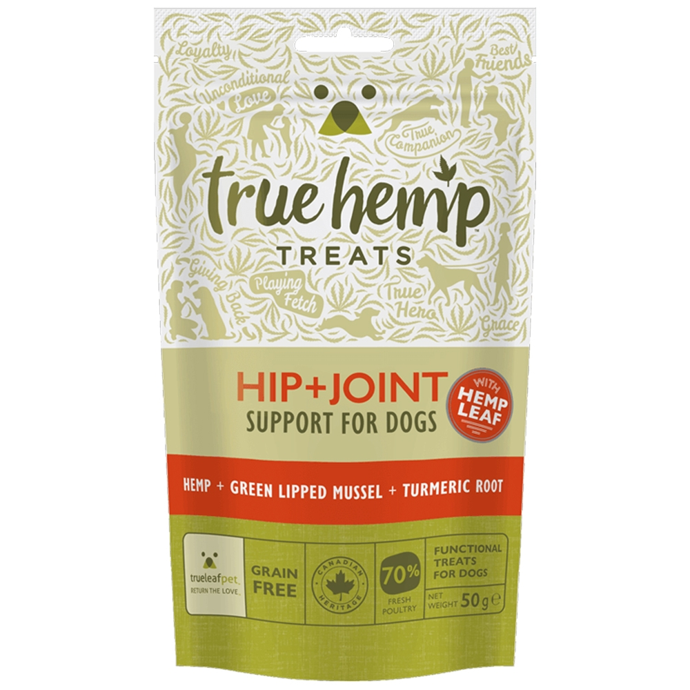 True Hemp Snack Hip & Joint 50g