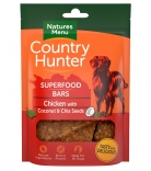 Natures Menu Country Hunter Superfood Bars Huhn mit Chia & Kokosnuss 100g
