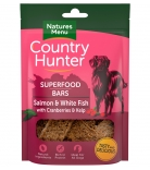 Natures Menu Country Hunter Superfood Bars Lachs & Weißfisch mit Preiselbeeren & Seetang 100g