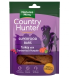 Natures Menu Country Hunter Superfood Bars Pute mit Preiselbeere & Kürbis 100g