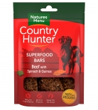 Natures Menu Country Hunter Superfood Bars Rind mit Spinat & Quinoa 100g