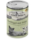 LandFleisch Cat Schlemmertopf Geflügel & Wild 400g