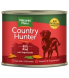 Natures Menu Country Hunter Rind & Superfoods 600g