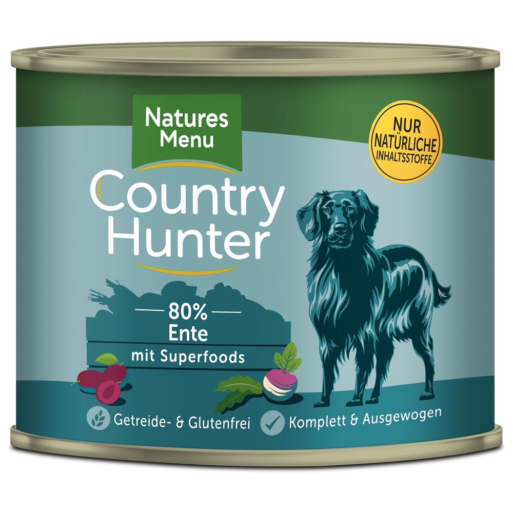 Natures Menu Country Hunter Saftige Ente 600g