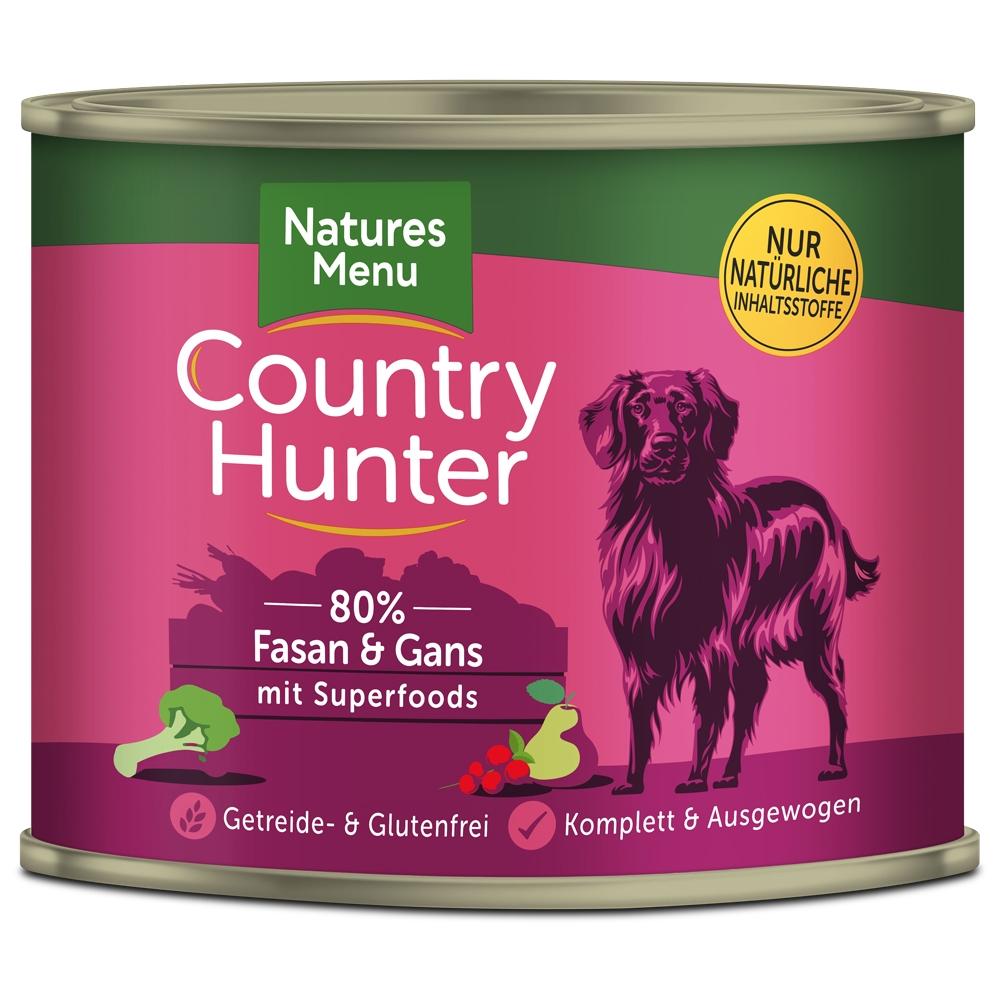 Natures Menu Country Hunter Fasan & Gans 600g