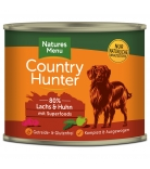 Natures Menu Country Hunter Lachs & Huhn 600g