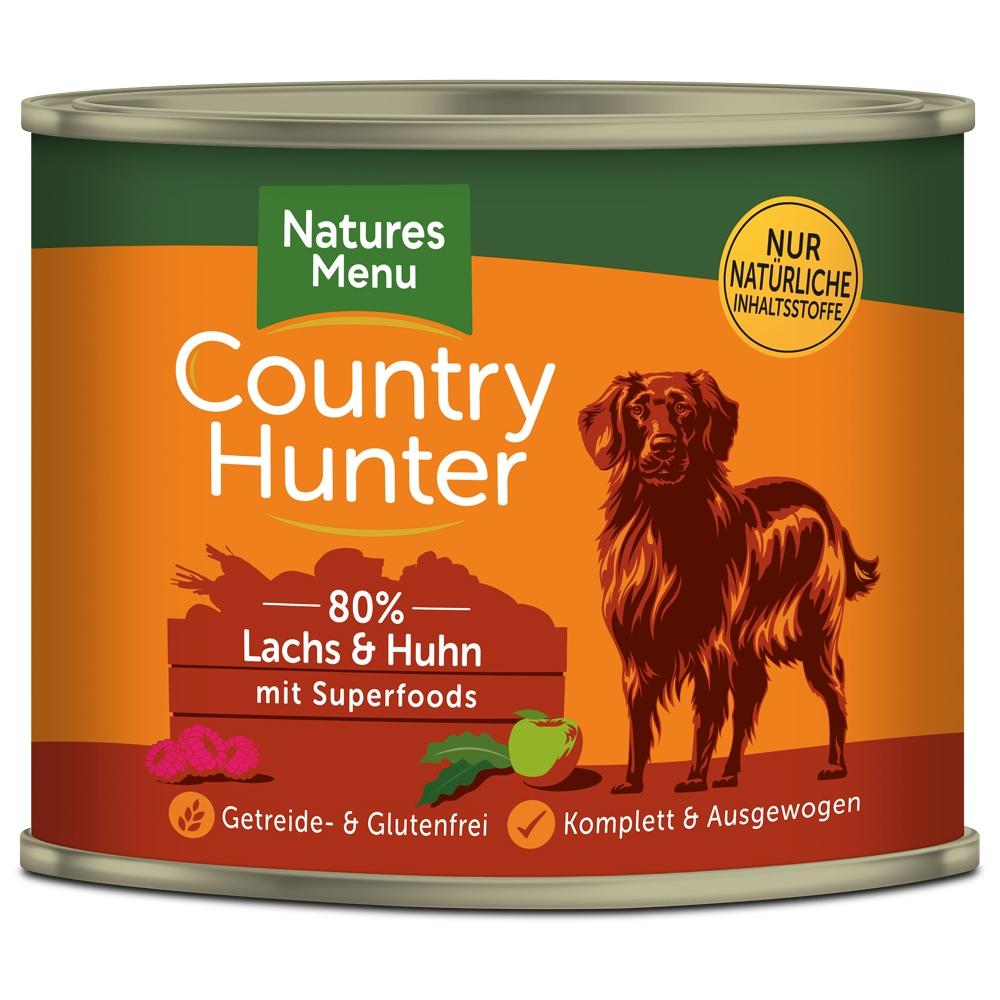 Natures Menu Country Hunter Lachs & Huhn 600g